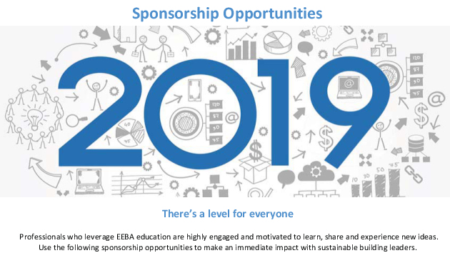 2019 EEBA Sponsorship Opportunities