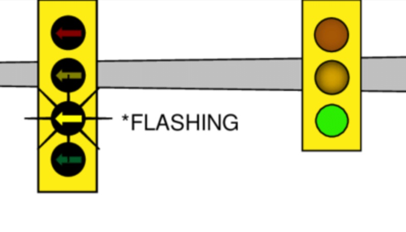 The Flashing Yellow Arrow